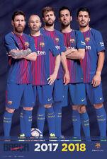 FC Barcelona BRING IT! 2017/18 La Liga Import POSTER - Messi, Suarez, Busto, ++