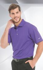 Mens Nike Dri-Fit Stretch UV Short Sleeve SS Golf Polo Shirt Small Purple 358324