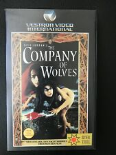 Company Of Wolves VHS Tape English with dutch subs
