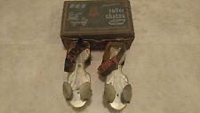 Ted Williams Vintage Sears Metal Roller Skates Adjustable Straps