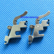 2 PCS Snap On Low shank Adapter Foot for Singer Featherweight 221 ,221k, 222 #50