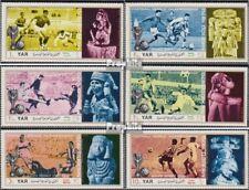 Nordjemen (Arabische Rep.) 1160-1165 (kompl.Ausg.) postfrisch 1970 Fußball-WM in