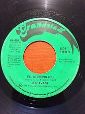 """Jeff Evans-I'll Be Seeing You-7"""" 45-Grandstand-HK 401-Vinyl Record"""