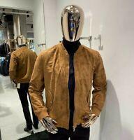 Brunello Cucinelli suede Jacket sizes 52 54 56 58  100% Authentic&New