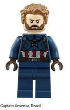 *NEW* LEGO Infinity War Captain America Minifigure 76101 Mini Fig w/ Claw Shield