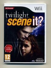 Scene It? Twilight Nintendo Wii PAL Brand New