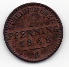 Germany - Preussen / Prussia - 1 Pfennig 1868 B