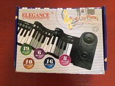 Roll Up Piano Keyboard Soft Flexible Electronic Elegance 49 Keys