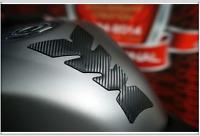 PAD PROTECTION RESERVOIR MOTO 213.8x 123  Personalisé carbone noir