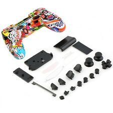 Skeleton Gamepad Controller Housing Shell W/Buttons Kit for PS4 Handle Cover XP