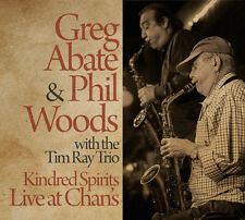Greg Abate / Phil Wo - Kindred Spirits Live at Chan's [New CD]