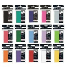 Ultra PRO Pro-Matte Deck Protector Sleeves Standard Card Size 50ct 66 x 91mm