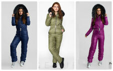 a3786f8002d Man Woman Overall One Piece Snow Ski Suit Nylon Purple Blue Olive Army Green  Anz
