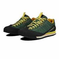 Merrell Mens Catalyst Suede Walking Shoes Green Sports Outdoors Breathable