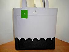 NWT KATE SPADE LITA STREET SCALLOP ANDREA FAUX LEATHER TOTE
