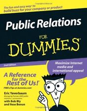 Public Relations For Dummies, 2nd Edition,Eric Yaverbaum