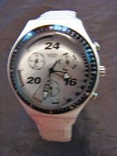 Crono Swatch AG 1996 1997 FallWinter Irony Chrono Straight Edge L Art YCS1006AL
