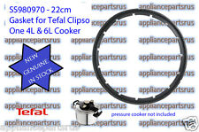 Tefal CLIPSO ONE Pressure Cooker Lid Gasket Part SS980970 NEW GENUINE IN STOCK