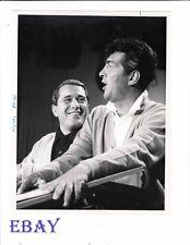 Dean Martin Perry Como VINTAGE Photo circa 1965 Perry Como's Kraft Music Hall