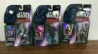 Star Wars Leia Prince Xizor Chewbacca Shadows of Empire Action Figures Lot 1996