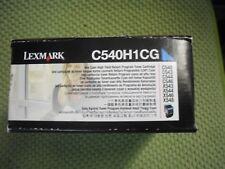 Cyan for Lexmark C540 C543 C544 X543 X544dn X546 X548 Cyan Toner C540H1CG