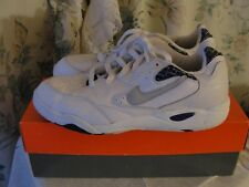 NIKE AIR CONDITIONERS WHITE LEATHER SNEAKERS WOMENS SIZE 7 NEW IN BOX (LOT#114)