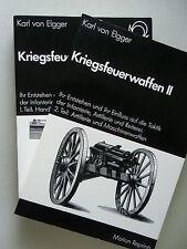 2 Bd. Kriegsfeuerwaffen I + II 1868 / 1978 Entstehung Einfluss Taktik Infanterie