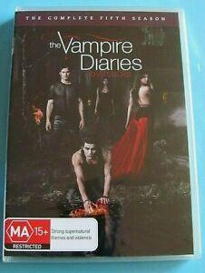 THE VAMPIRE DIARIES Season 5 DVD NEW SEALED Region 4 see below