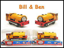 Thomas  the Tank engine TRACKMASTER--- Bill & Ben BN, Compatible with all Tracks
