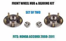 Fits: 2008-2011 HONDA ACCORD Front Wheel Hub & Bearing Assembly  SET OF TWO
