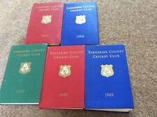 Yorkshire Cricket Club Yearbooks 1960s