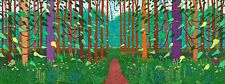 "DAVID HOCKNEY THE ARRIVAL OF SPRING  CANVAS   38""X20"""
