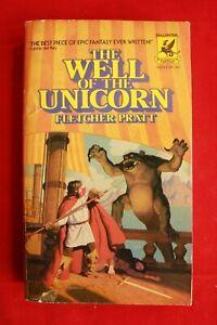THE WELL OF THE UNICORN; Fletcher Pratt; Ballentine paperback 1976