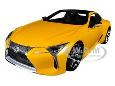 LEXUS LC500 METALLIC YELLOW 1/18 MODEL CAR BY AUTOART 78847