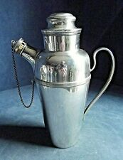 GOOD ~ SILVER Plate ~ ART DECO ~ COCKTAIL SHAKER Jug ~ c1935 by William Suckling