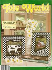 TOLE WORLD : Vol 16 No 1 - Back Issue - Jan / Feb 1992