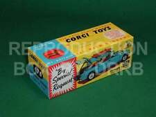 Corgi #475 Citroen Safari 'Corgi Ski Club' - Reproduction Box by DRRB