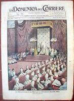 447) 1920 CERIMONIA DI SAN PIETRO PER COMMEMORARE GIOVANNA D'ARCO. RIVISTA ILL.