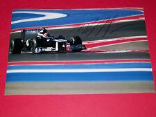 BRUNO SENNA FORMULA ONE F1 HAND SIGNED AUTOGRAPH 12X8 PHOTO