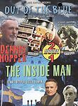 OUT OF THE BLUE / THE INSIDE MAN - DENNIS HOPPER  RARE! - USED DVD MOVIE DISC