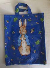 Peter Rabbit PVC Bag  - w 29cm  x  35cm      Vintage Retro  c 1990's