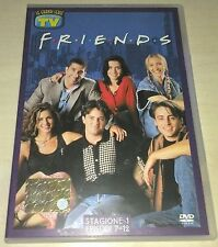 FRIENDS STAGIONE 1 DVD ORIGINALE EPISODI 7-12 TV SORRISI E CANZONI