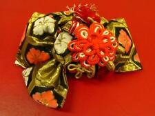 Japanese Kimono Pre-tied OBI Kikkoh Hana Pattern for children (PO 11)