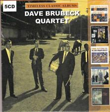 DAVE BRUBECK QUARTET - TIMELESS CLASSIC ALBUMS (NEW SEALED 5CD)