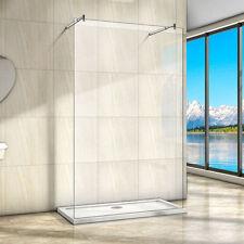 950x2000mm Wet room Shower Enclosure Screen Panel 8mm NANO Glass Double Bar