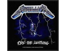 OFFICIAL LICENSED - METALLICA - RIDE THE LIGHTNING SKULL SEW ON PATCH METAL NEW