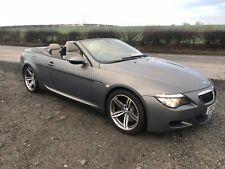 2008 BMW M6 V10 5.0 CONVERTIBLE SEMI AUTO FULL SERVICE HISTORY 98000 MILES
