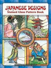Japanese Designs Stained Glass Pattern Book (Dover Stained Glass Instruction) by