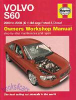 VOLVO S60 SHOP MANUAL SERVICE REPAIR BOOK HAYNES OWNERS WORKSHOP CHILTON 01-08
