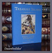 Treasure Island by R. L. Stevenson Illustrated Unabridged New Deluxe Hardcover